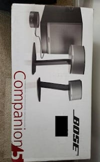 Bose Companion 5 multimedia speaker system - BRAND NEW Reston