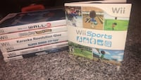 Wii games  Burlington, L7M 4V2