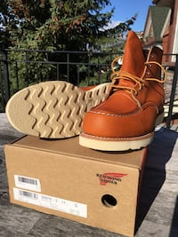 Red Wing Moc Toe Boots - Men's size 11
