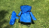 Blue and black camping chair Aberdeen, 21005