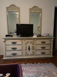 Dresser with mirrors  Newmarket