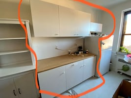 """Modular kitchen cabinets from IKEA """"KNOXHULT"""""""