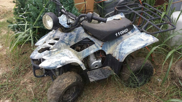 Chinese Atv For Sale >> 110cc Chinese Atv