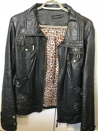 Le Chateau leather look jacket