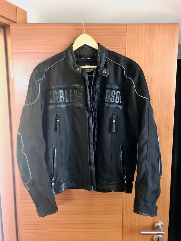 Harley-Davidson FXRG All-Weather Motorcycle Riding Jacket e320c1aa-f2a7-478a-9403-6cb783418aba