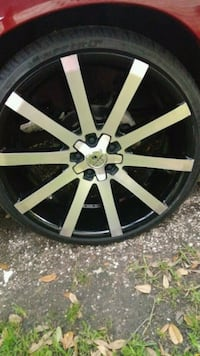 22 Inch Kraze Rims Universal With Tires 245/30ZR22 Lake Charles