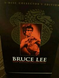 Bruce Lee the master collection DVDs  Brampton, L6S 2R9