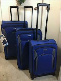 Luggage 3pieces set Blue Houston, 77036