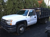 2005 Chevrolet Silverado 3500 Dually salter snow plow West Chester