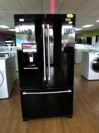 Maytag black French door refrigerator  Woodbridge, 22191