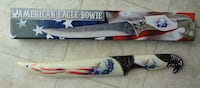 """13"""" American Eagle Bowie Knife Rehoboth Beach"""
