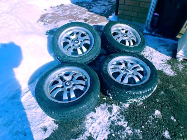 Used Tires Barrie >> Used Bmw Snow Tires Rims For Sale In Barrie Letgo