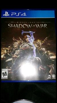 For ps4 shadow of war East Hartford, 06118