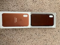 iPhone X leather case  Raleigh, 27617
