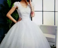 Size 8, 14; Floral Lace Tulle Ball Gown Lewisville, 75067
