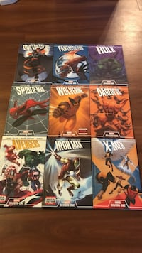 Marvel season 1 graphic novels