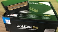 Worldcard Pro for Mac/Win Portable Clr Business Card Scanner Mississauga, L5L 5S6