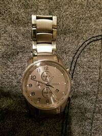 All Stainless Steel Fossil Watch  San Antonio, 78247
