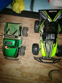 One battery and one aa battery operated  rc Gowen, 49326