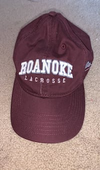 Roanoke Lacrosse baseball hat Sterling, 20165