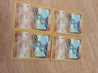 six assorted Pokemon trading cards Woodbridge, 22193