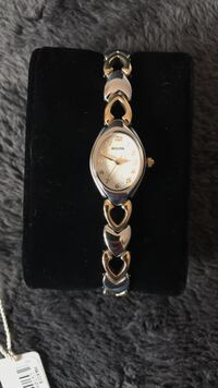 Bulova two-toned females watch (brand new) Dewey, 86327