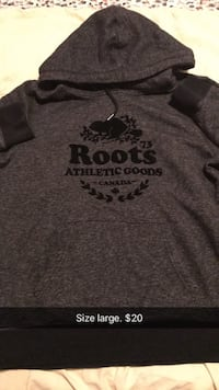 gray Roots Athletics Goods pullover hoodie Calgary, T3N 0G8