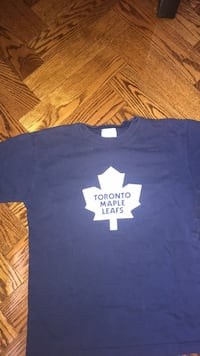 Kids blue leafs shirt  Richmond Hill