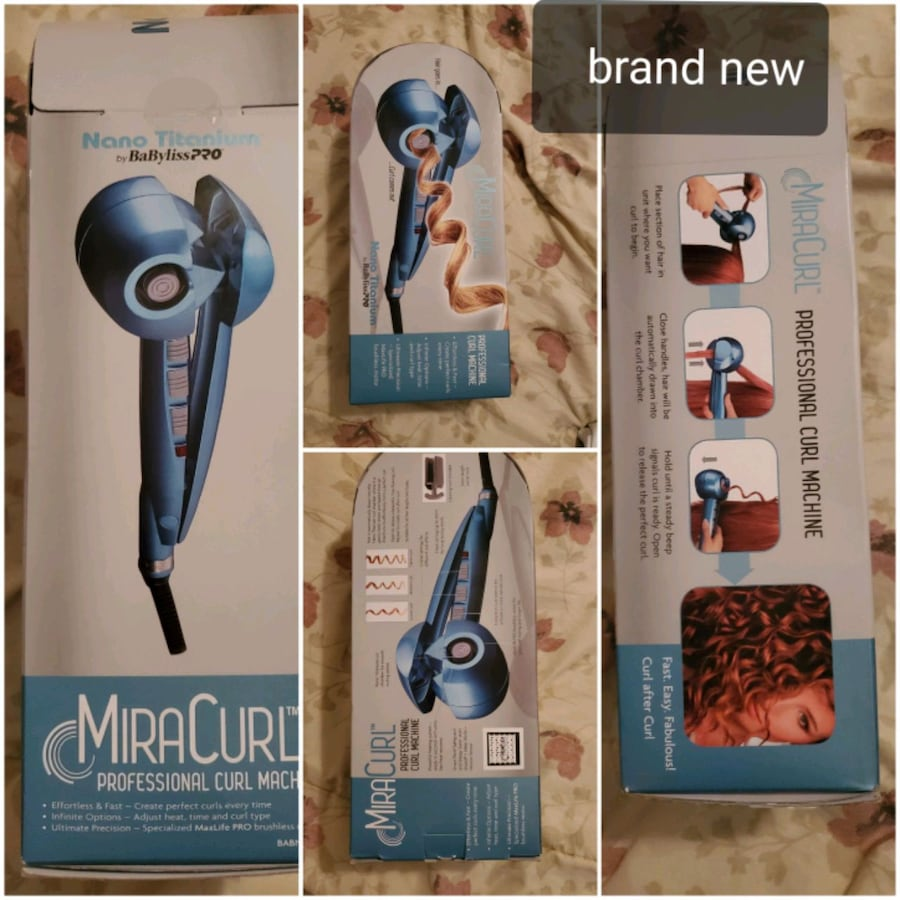 Brand new instant curls hair curler