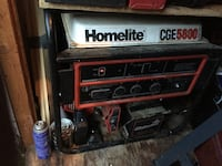 Black and white Homelite CGE 5800 power generator Middletown, 19709
