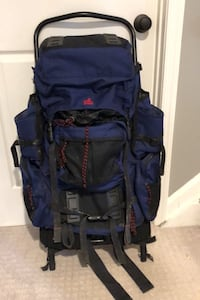 External Frame Backpack, Rain Cover, and Mosquito Net Burke, 22015