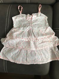MEXX cotton sleeveless dress in excellent condition, Size 24-30 months Милтон, L9T