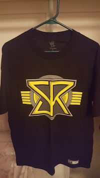 Seth Rollins DON`T SELL OUT BUY IN - WWE AUTHENTIC shirt NEW (LARGE) Bradford West Gwillimbury