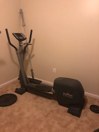 black and gray elliptical trainer Brandywine, 20613