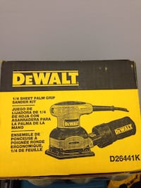 Dewalt 1/4 sheet sanding kit  Herndon, 20171