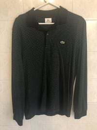 Lacoste Mens Long Sleeve Polo Shirt Size 5 Brand New
