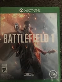 Battlefield 1 Xbox One game case Riverside, 92507