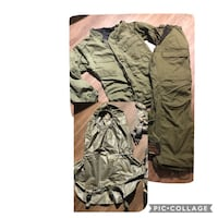 Army chemical suit