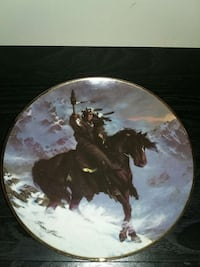 Collectors Plate - Spirit of the West Wind 211 mi
