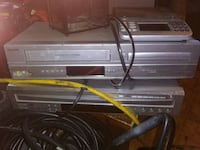 1/Dvd player,1 DVD/Vcr VCR player,scale 15 Des Moines, 50313