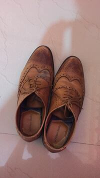 pair of brown leather dress shoes Bengaluru South, 560066