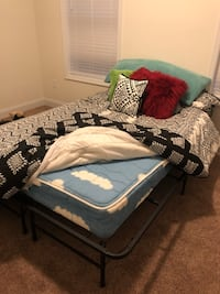 Full/Double mattress - best offer - comes with comforter & decorative pillow. Pick up only Lancaster, 17601