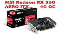 Scheda video MSI rx560 4gb OC Ddr5 Napoli, 80142