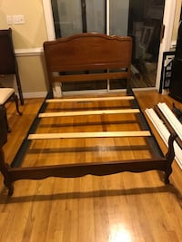 Full size solid wood bed frame for sale Henrico, 23233