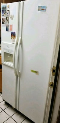 white side by side refrigerator West Covina, 91790