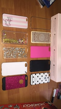 assorted-color iPhone case collection Nanaimo, V9V 1H8