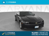 2015 Chevy Chevrolet Camaro coupe LS Coupe 2D GRAY Brentwood