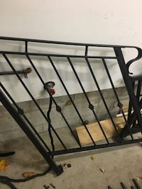 Wrought iron railing for porch and hand rail Toronto, M6S 3R2