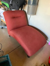 Red cloth lounger