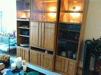 brown wooden cabinet with shelf Olney, 20832
